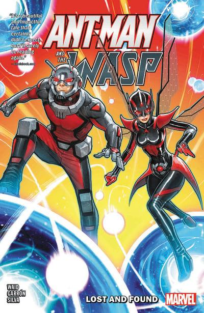 Ant-Man And Wasp (Paperback) Lost Found Graphic Novels published by Marvel Comics