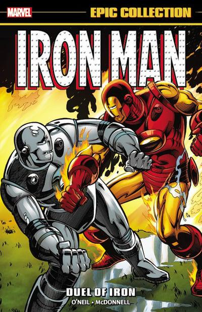 Iron Man Epic Collection (Paperback) Duel Of Iron Graphic Novels published by Marvel Comics