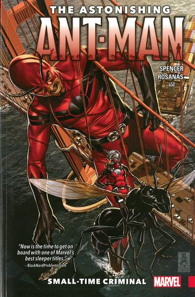 Astonishing Ant-Man (Paperback) Vol 02 Small Time Criminal Graphic Novels published by Marvel Comics