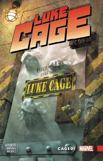 Luke Cage (Paperback) Vol 02 Caged Graphic Novels published by Marvel Comics