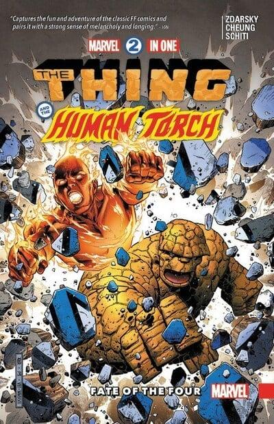 Marvel Two-In-One (Paperback) Vol 01 Fate Of The Four Graphic Novels published by Marvel Comics