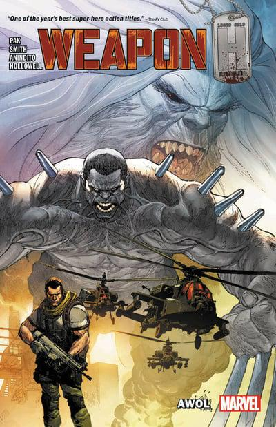 Weapon H (Paperback) Vol 01 Awol Graphic Novels published by Marvel Comics