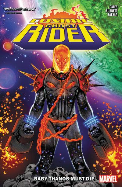 Cosmic Ghost Rider (Paperback) Baby Thanos Must Die Graphic Novels published by Marvel Comics