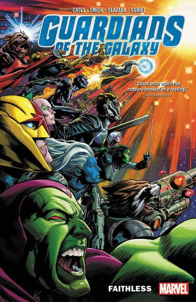 Guardians Of The Galaxy (Paperback) Vol 02 Faithless Graphic Novels published by Marvel Comics