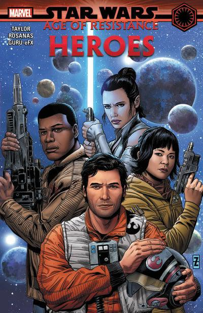 Star Wars Age Of Resistance (Paperback) Heroes Graphic Novels published by Marvel Comics