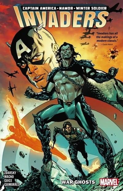 Invaders (Paperback) Vol 01 War Ghosts Graphic Novels published by Marvel Comics