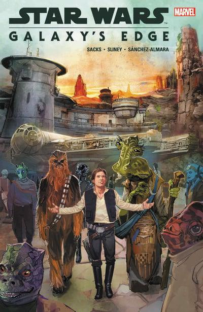 Star Wars Galaxys Edge (Paperback) Graphic Novels published by Marvel Comics