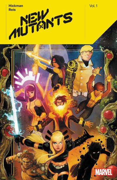 New Mutants By Hickman (Paperback) Vol 01 Graphic Novels published by Marvel Comics