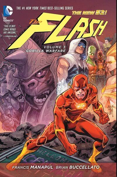 Flash (Paperback) Vol 03 Gorilla Warfare (N52) Graphic Novels published by Dc Comics