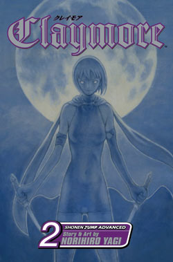 Claymore Gn Vol 02 Manga published by Viz Media Llc