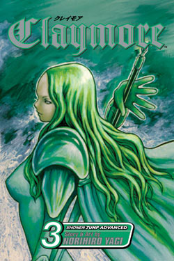Claymore Gn Vol 03 Manga published by Viz Media Llc