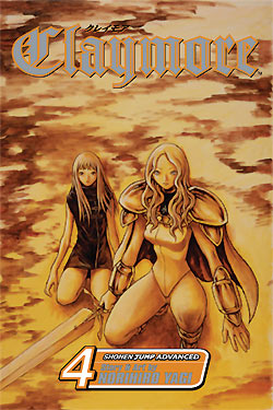 Claymore Gn Vol 04 Manga published by Viz Media Llc