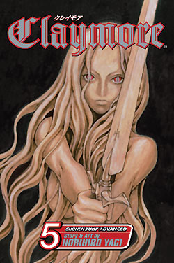 Claymore Gn Vol 05 Manga published by Viz Media Llc