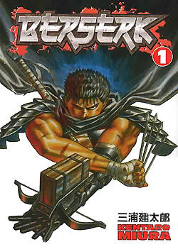 Berserk (Paperback) Vol 01 Black Swordsman (Mature) Manga published by Dark Horse Comics