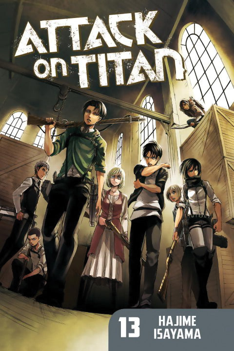 Attack On Titan Gn Vol 13 Manga published by Kodansha Comics