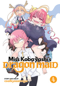 Miss Kobayashi's Dragon Maid Gn Vol 04 Manga published by Seven Seas Entertainment Llc