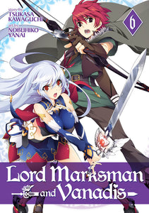 Lord Marksman & Vanadis Gn Vol 06 Manga published by Seven Seas Entertainment Llc