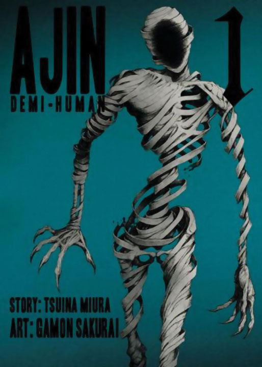 Ajin Demi-Human Gn Vol 01 Manga published by Vertical Comics