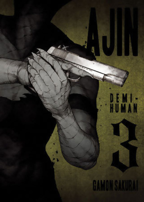 Ajin Demi-Human Gn Vol 03 Manga published by Vertical Comics