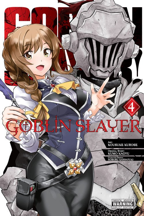 Goblin Slayer Gn Vol 04 (Mature) Manga published by Yen Press