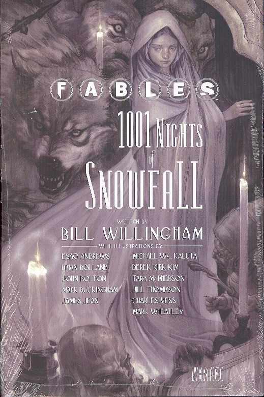 Fables 1001 Nights Of Snowfall (Hardcover) (Mature) Graphic Novels published by Dc Comics