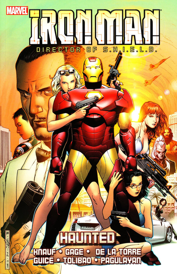 Iron Man (Paperback) Haunted Graphic Novels published by Marvel Comics
