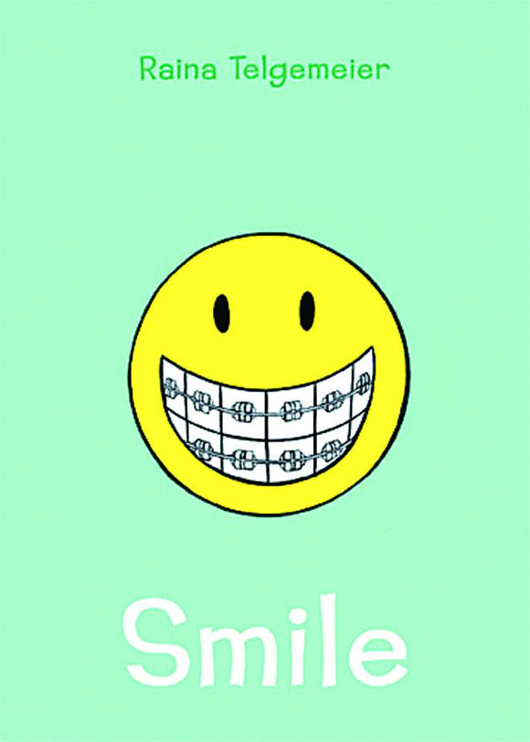 Smile (Paperback) Raina Telgemeier Graphic Novels published by Graphix