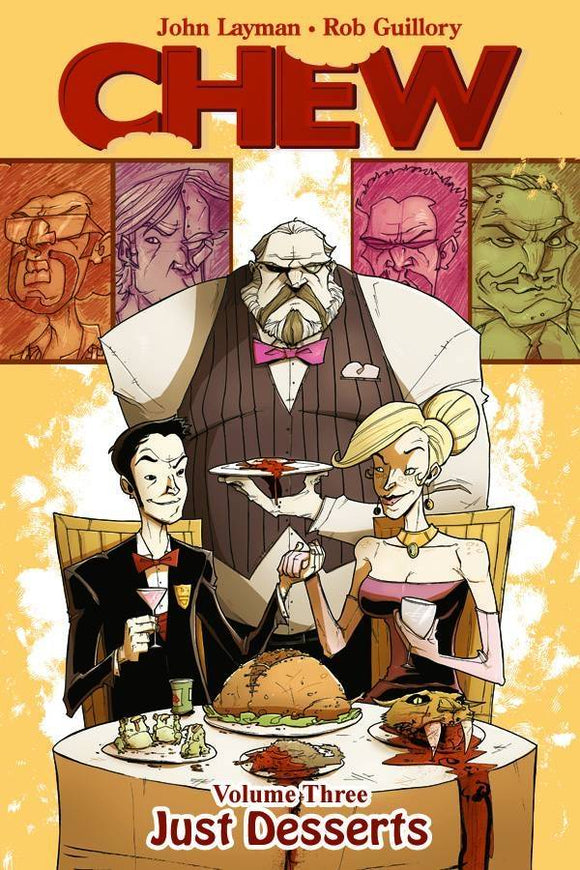 Chew (Paperback) Vol 03 Just Desserts (Mature) Graphic Novels published by Image Comics