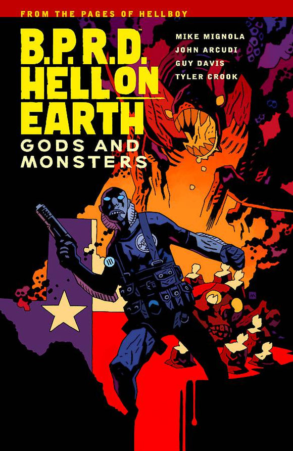 Bprd Hell On Earth (Paperback) Vol 02 Gods And Monsters Graphic Novels published by Dark Horse Comics