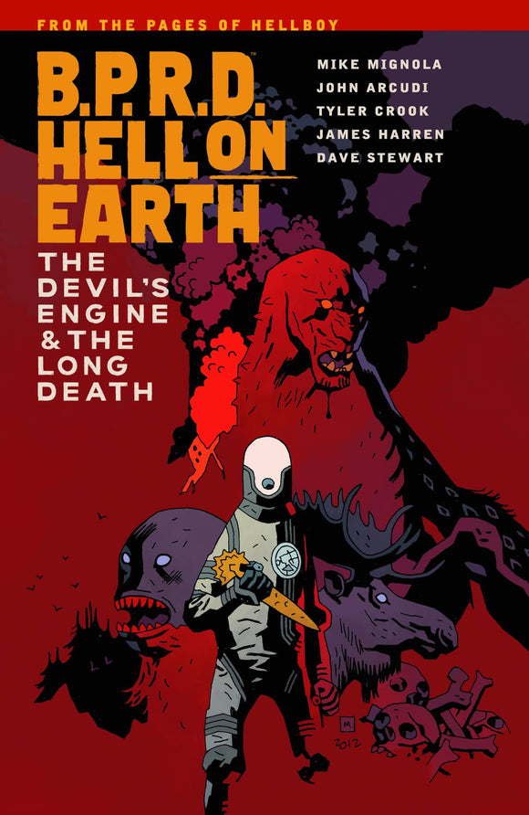 Bprd Hell On Earth (Paperback) Vol 04 Devil Engine & Long Death Graphic Novels published by Dark Horse Comics