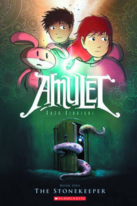 Amulet Sc Vol 01 The Stonekeeper Graphic Novels published by Graphix