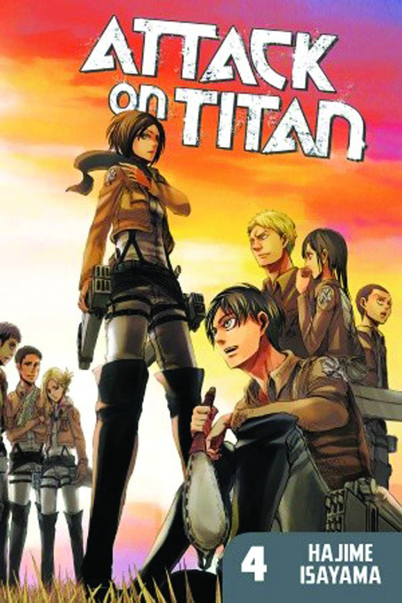 Attack On Titan (Manga) Vol 04 Manga published by Kodansha Comics