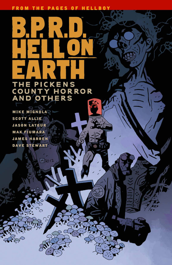Bprd Hell On Earth (Paperback) Vol 05 Pickens County Horror Graphic Novels published by Dark Horse Comics