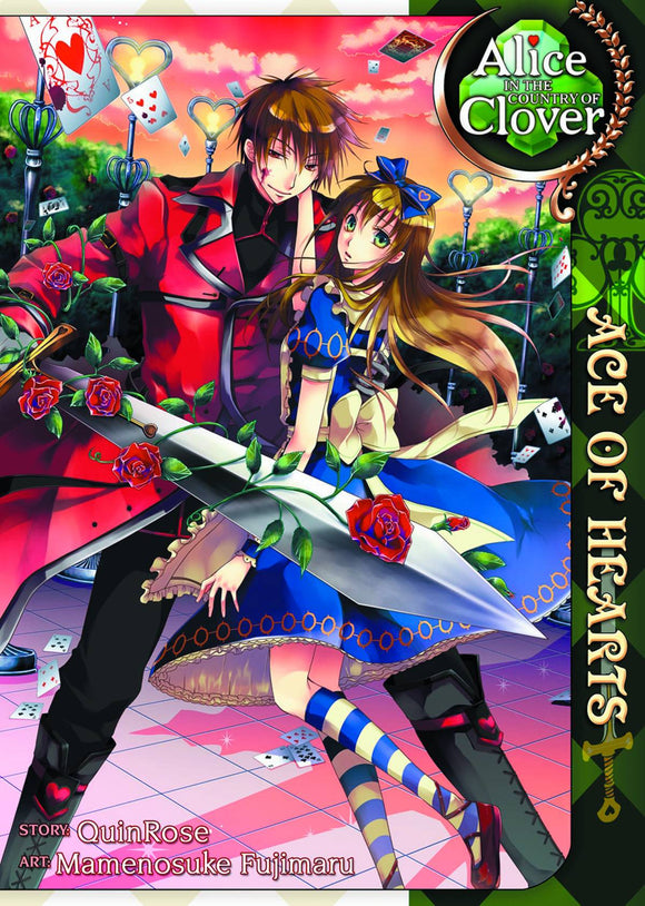 Alice In The Country Of Clover: Ace Of Hearts Gn Vol 01 (Mature) Manga published by Seven Seas Entertainment Llc