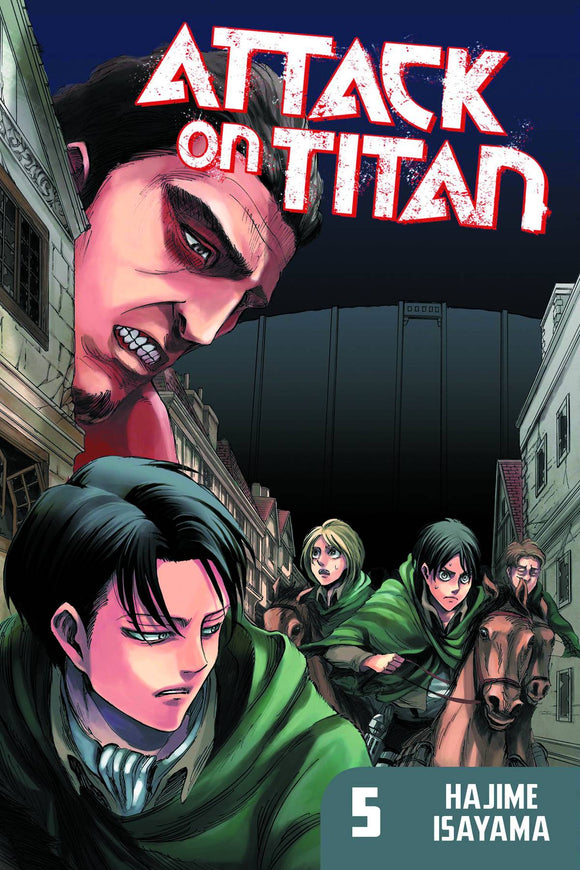 Attack On Titan Gn Vol 05 Manga published by Kodansha Comics