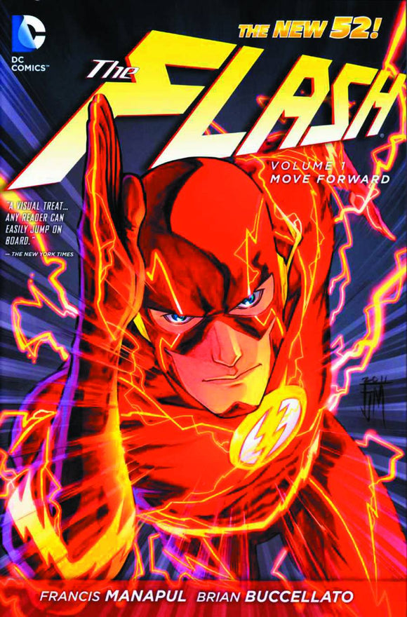 Flash (Paperback) Vol 01 Move Forward (N52) Graphic Novels published by Dc Comics