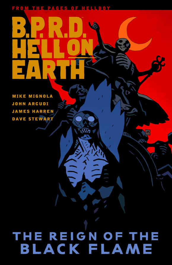 Bprd Hell On Earth (Paperback) Vol 09 Reign Of Black Flame Graphic Novels published by Dark Horse Comics