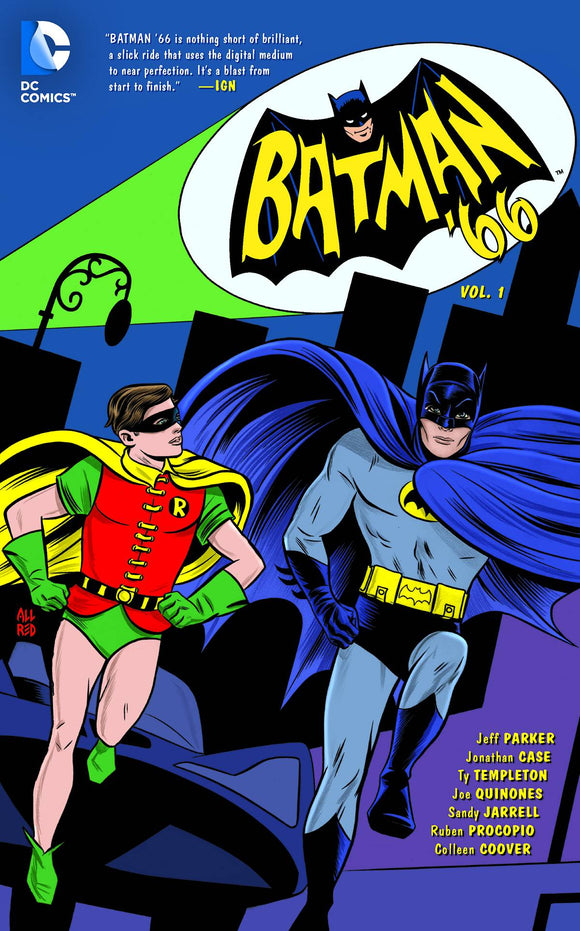Batman 66 (Paperback) Vol 01 Graphic Novels published by Dc Comics