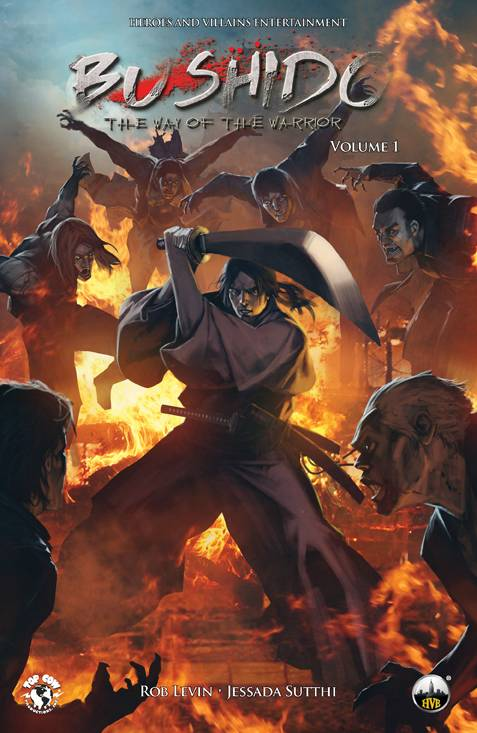 Bushido (Paperback) (Mature) Graphic Novels published by Image Comics