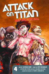 Attack On Titan Before The Fall Gn Vol 04 Manga published by Kodansha Comics
