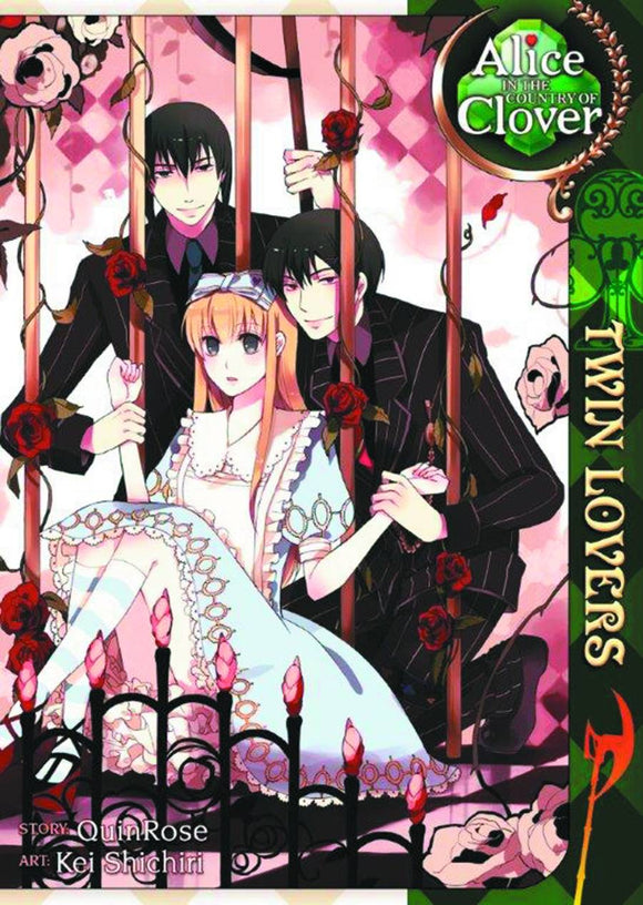Alice In The Country Of Clover: Twin Lovers (Manga) (Mature) Manga published by Seven Seas Entertainment Llc