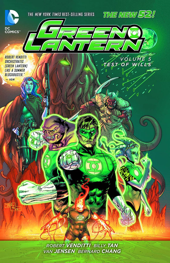 Green Lantern (Paperback) Vol 05 Test Of Wills (N52) Graphic Novels published by Dc Comics