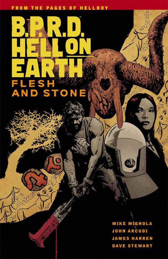 Bprd Hell On Earth (Paperback) Vol 11 Flesh And Stone Graphic Novels published by Dark Horse Comics