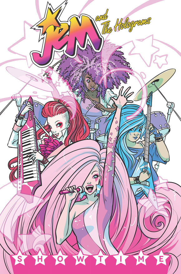 Jem & The Holograms (Paperback) Vol 01 Showtime Graphic Novels published by Idw Publishing