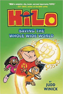 Hilo Gn Vol 02 Saving The Whole Wide World Graphic Novels published by Random House