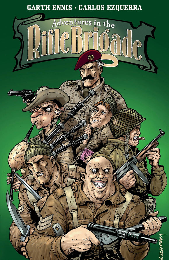 Adventures In The Rifle Brigade (Paperback) (Mature) Graphic Novels published by Image Comics