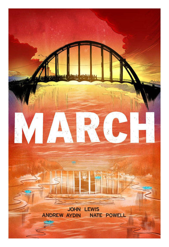 March By John Lewis (Graphic Novel) Trilogy Slipcase Set Graphic Novels published by Idw Publishing