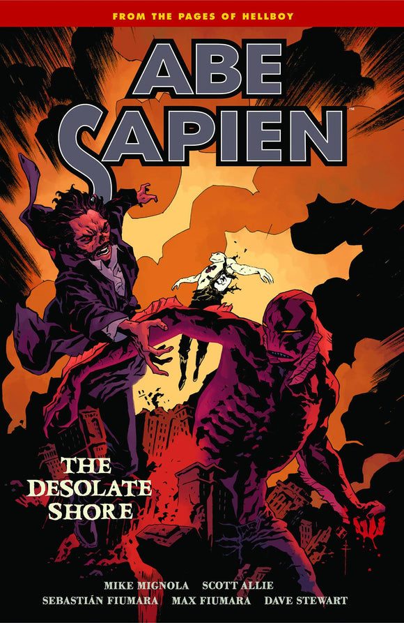 Abe Sapien (Paperback) Vol 08 Desolate Shore Graphic Novels published by Dark Horse Comics