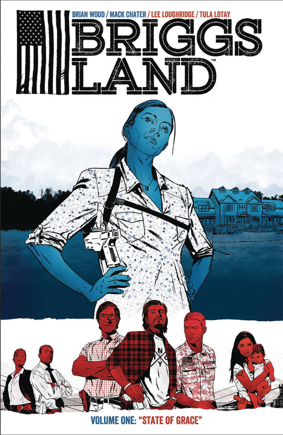 Briggs Land (Paperback) Vol 01 State Of Grace Graphic Novels published by Dark Horse Comics