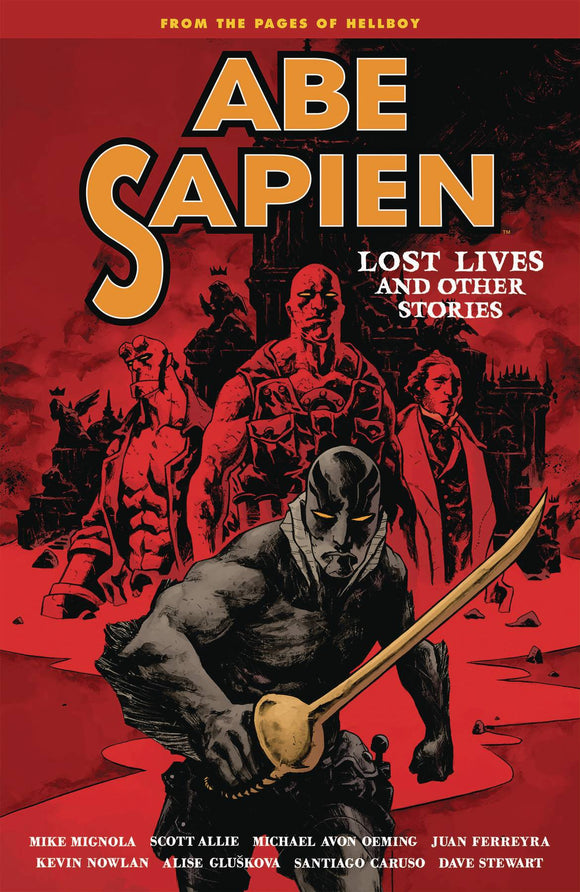 Abe Sapien (Paperback) Vol 09 Lost Lives & Other Stories Graphic Novels published by Dark Horse Comics